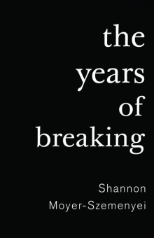 The Years of Breaking