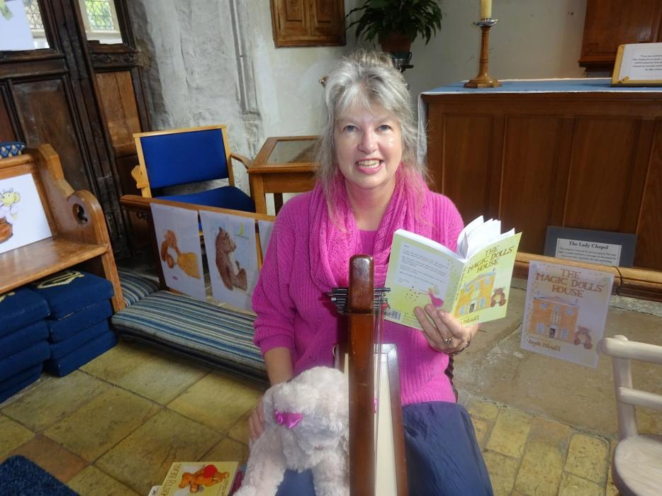 Angela Patchett at Ashwell Book Fair