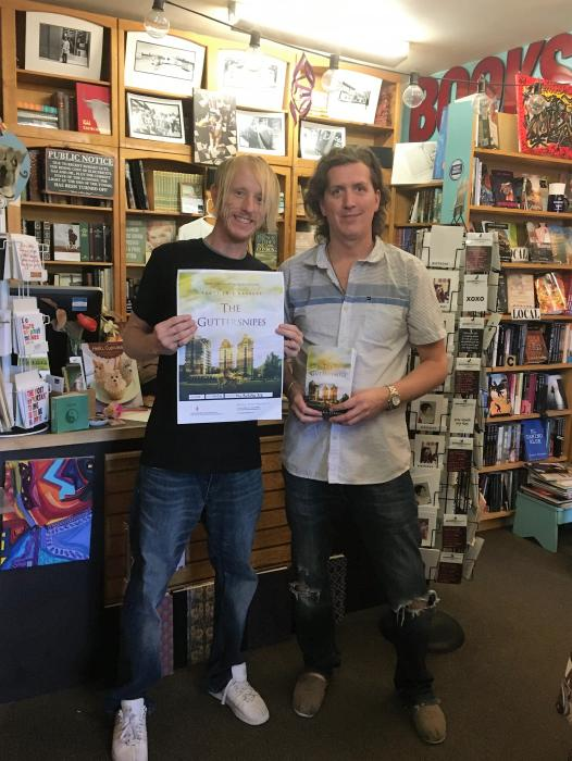 Scott Eric Barrett at The Bookshop AZ