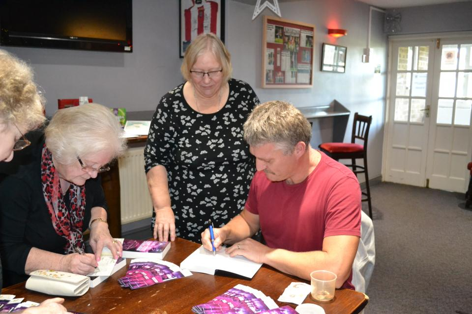 N.P. Lumsdale Book Signing
